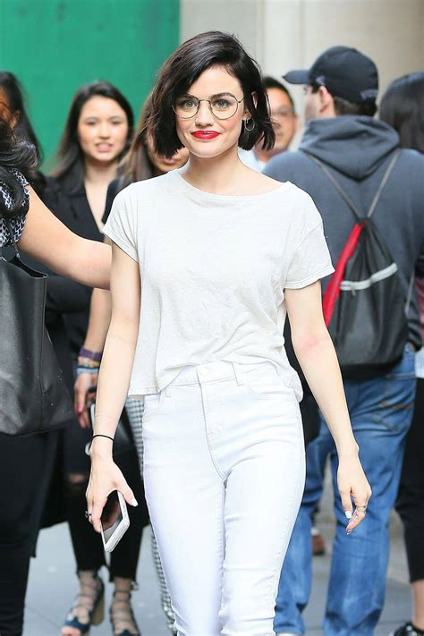 Lucy Hale Out and About in New York - Celebskart
