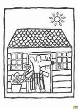 Mimi Maison Coloriage Maisy Dans Coloring Mouse Sa Petite Souris Illustration Kindergarten Section Cousins Colorier Mice Saying sketch template