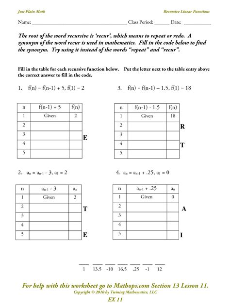 math linear functions worksheets algebra 2 worksheets
