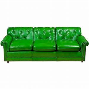 Mint green leather sofa refil sofa for Mint green sectional sofa