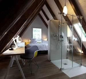 emejing amenagement chambre comble ideas ridgewayngcom With amenager une chambre dans les combles