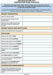 hse risk assessment template construction template With risk assessment program template