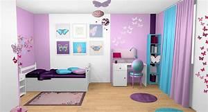 stunning idee deco chambre gris et mauve photos seiunkel With deco chambre gris et mauve