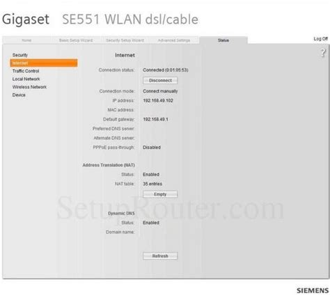 Siemens se587wlan dsl router   wireless lan   asynchronous.