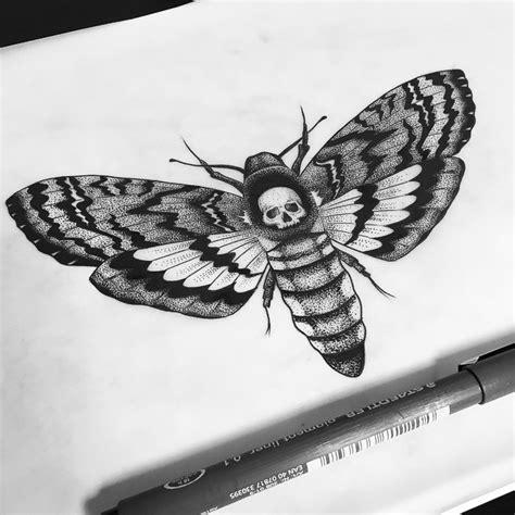 Death Head Moth Inked Pinterest Tattoo Ink