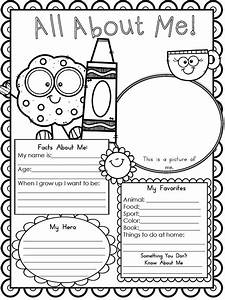 Free printable all about me worksheet modern homeschool for About me template for students