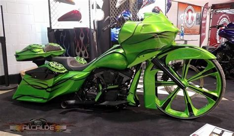 Custom Motorcycle Painting & Graphics