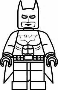 Lego Batman Coloring Page Wecoloringpagecom