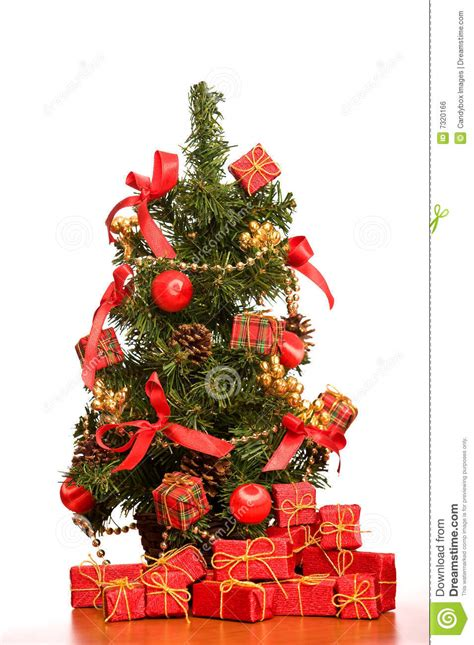 mini desk christmas tree mini christmas tree on office desk stock photo image