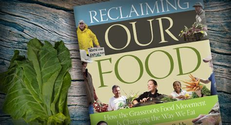 Reclaiming Our Food (book Review)  Sustainable Traditions