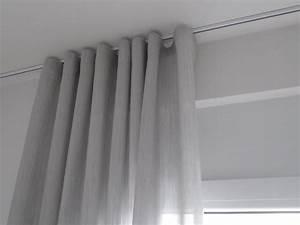 Vorhänge Auf Schienen : moderne fensterdeko mit wellenfaltenband tuchf hlung ihr raumausstatter oberursel ~ Markanthonyermac.com Haus und Dekorationen