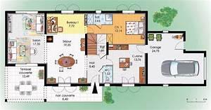maison du sud detail du plan de maison du sud faire With plan maison rez de chaussee