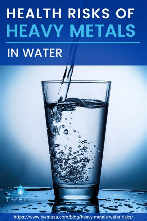 health risks  heavy metals  water  images
