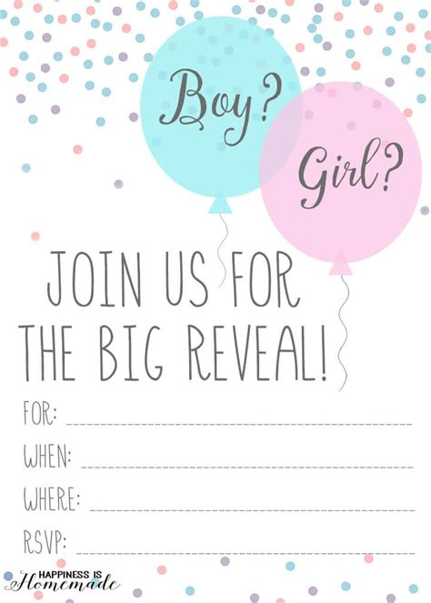baby gender reveal party ideas happiness  homemade
