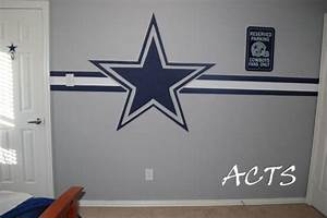 Dallas cowboys nursery on pinterest 72 pins for Dallas cowboys wall decals for kids rooms