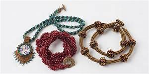 Bead Weaving: How to Weave a Beaded Spiral Rope and More ...