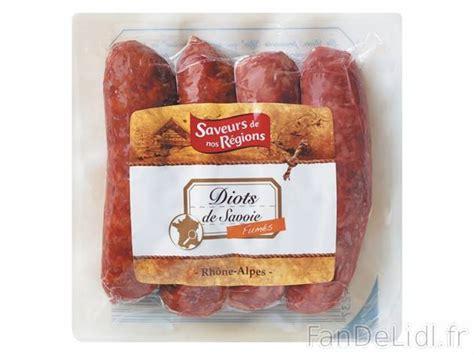 cuisiner des diots de savoie 4 diots de savoie produits alimentaires fan de lidl fr