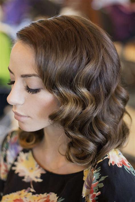 vintage hairstyles  medium length hair elle