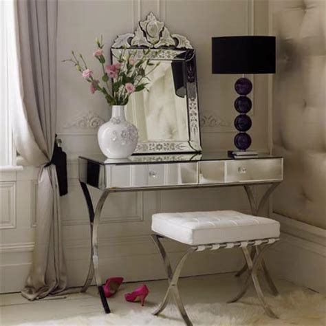 Glass Vanity Makeup Table by Lip Gloss I M Dreaming Of Vanity Tables