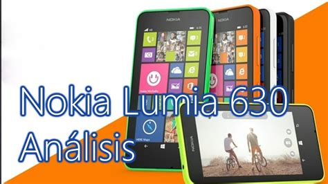 an 225 lisis nokia lumia 630 windows phone 8 1 y update