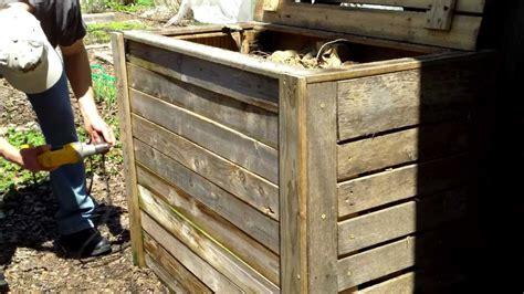 compost outdoor bin winter wigglers aihc