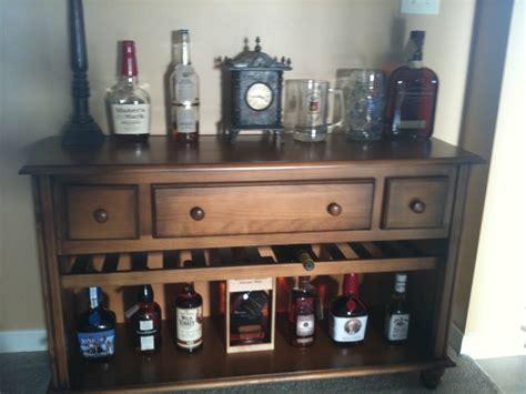 dresser converted   bar dresser bar furniture