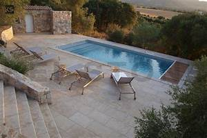 terrasse pierre naturelle dallage piscine dalle sol With revetement piscine pierre naturelle