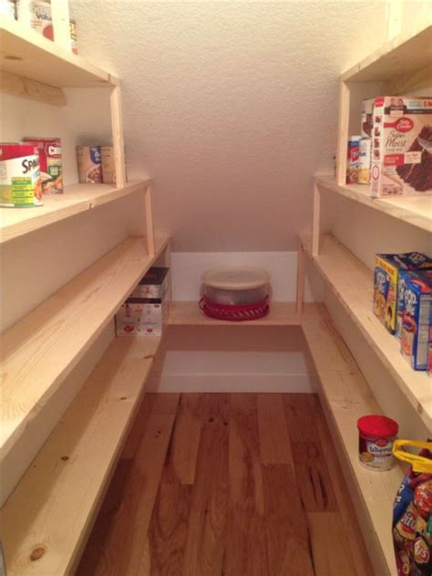 stairs pantry shelving pantry the