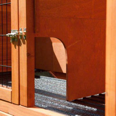 kaninchenstall mit freigehege outback kaninchenstall kompakt mit freigehege g 252 nstig bei zooplus
