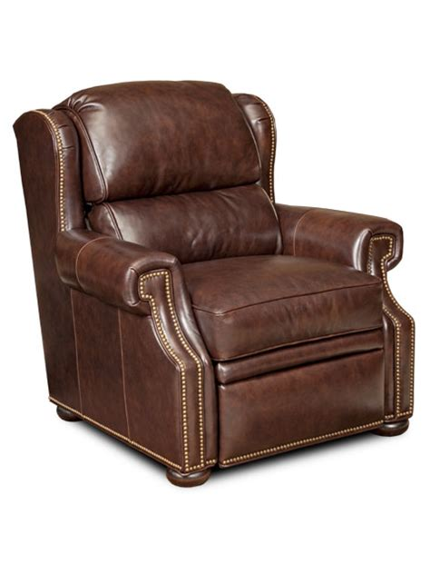reid leather recliner by bradington young chairs