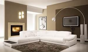 Wandfarben Brauntöne Wohnzimmer : 85 moderne wandfarben ideen f rs wohnzimmer 2016 ~ Markanthonyermac.com Haus und Dekorationen