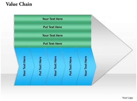 chain powerpoint template  template