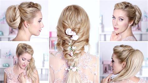 coiffure simple et chic pour mariage coiffure chic et simple cheveux mi fashion designs