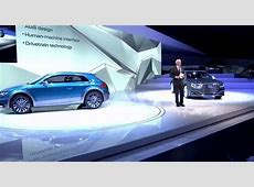 Audi's 2014 Detroit Auto Show Presentation Video