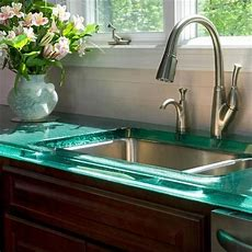 25+ Best Ideas About Glass Countertops On Pinterest