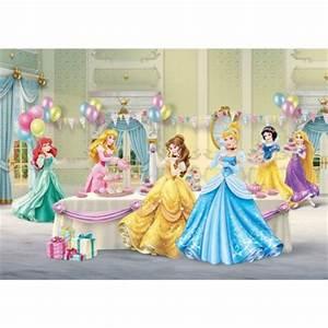 Deco Chambre Fille Princesse : d cor murale de princesse disney pour chambre de fille ~ Teatrodelosmanantiales.com Idées de Décoration