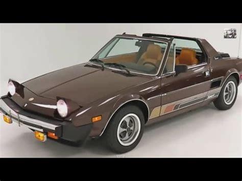 1976 Fiat X19 by Fiat X1 9 1972 1989