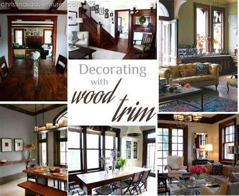 how to paint interior trim decor decorating with wood trim