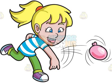 A Girl Having Fun With Water Balloons