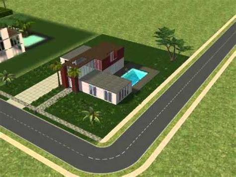 Sims 2 Modernes Haus Bau Youtube