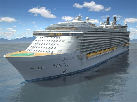 Oasis Of The Seas Cruise Ship 3d Model - CGStudio