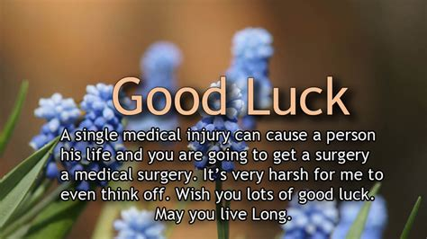 Good Luck With Your Surgery Quotes