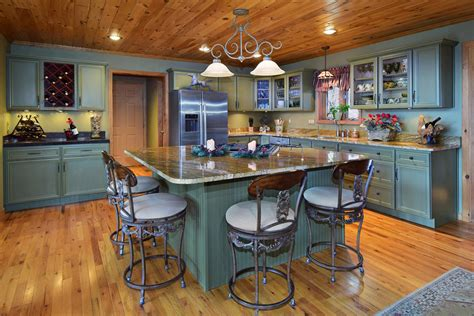 wooden country kitchen 47 beautiful country kitchen designs pictures 1159