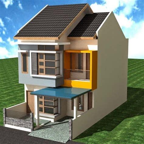 desain rumah tingkat minimalis  lantai sederhana axin