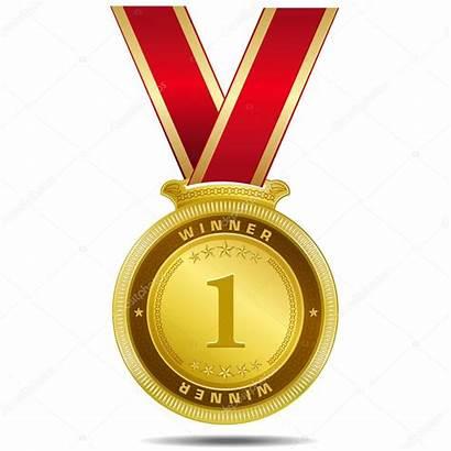 Medal Medaille Gouden Winner Kwaliteit Beste Winnaar