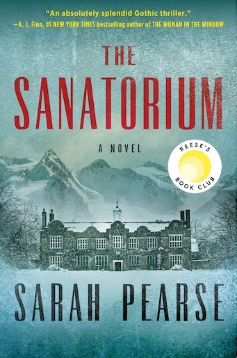 sanatorium   book  sarah pearse hardcover