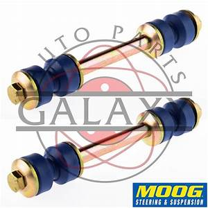 Moog New Front Sway Bar Link Kit Pair For F