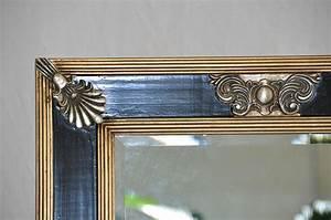 Spiegel Schwarz : prunk spiegel schwarz gold wandspiegel 139x59 cm ~ Pilothousefishingboats.com Haus und Dekorationen