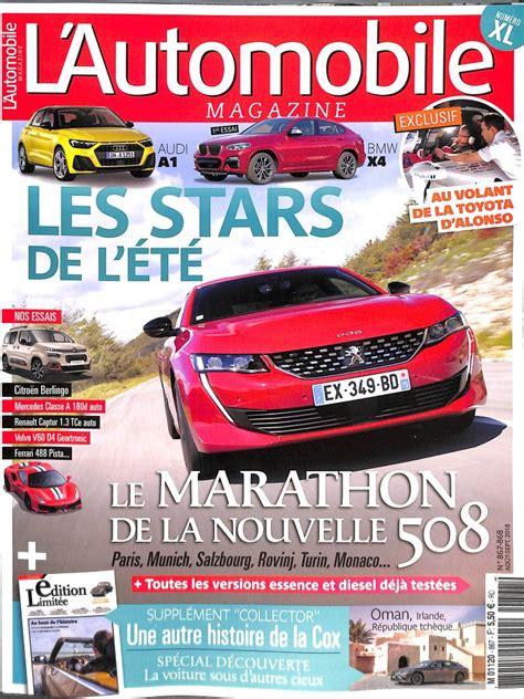l automobile magazine abonnement l automobile magazine abonnement magazine par toutabo
