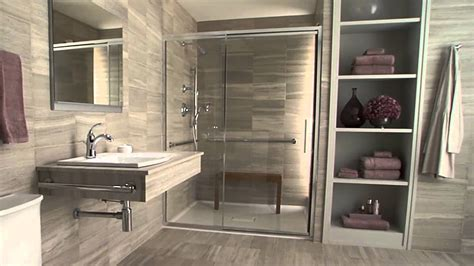 Handicapped Accessible Bathroom Plans by Kohler Accessible Bathroom Solutions Youtube
